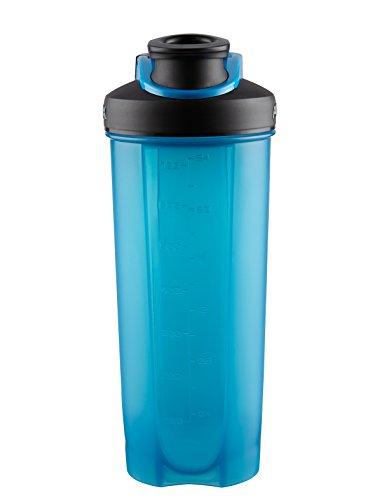 Blue : AVEX Mixfit Shaker Bottle With Carabiner Clip