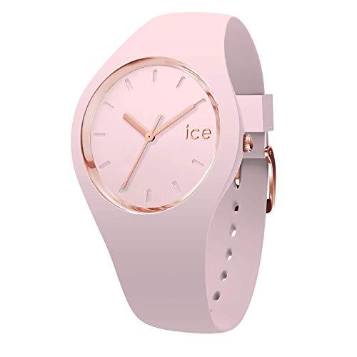 Ice-Watch - Ice Glam Pastel Pink lady - Rosa Damenuhr mit Silikonarmband - 001065 (Small)