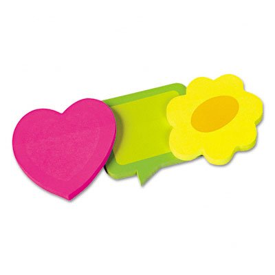 Redi-Tag Rtg41200 - Self-Stick Die-Cut Shaped Notepads