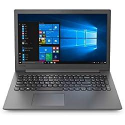 Lenovo Ideapad 130 7th Gen Intel Core I3 15.6 inch FHD Laptop ( 4GB RAM / 1 TB HDD / Windows 10 Home / Black / 2.1Kg), 81H7001WIN