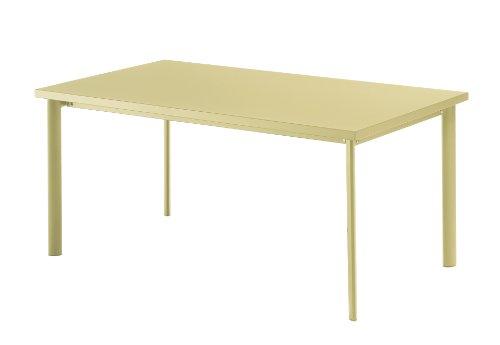 Emu 303073500 Star Tisch 307, 90 x 160 cm, pulverbeschichteter Stahl, sandfarben