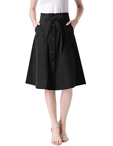 ANGGREK Womens Formal Skirt Stre...