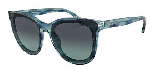 Ray-Ban 0EA4125, Montures de lunettes Femme, Bleu (Blue Water Color), 61