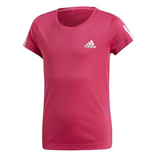 adidas Mädchen Equipment T-Shirt Real Magenta/White 128