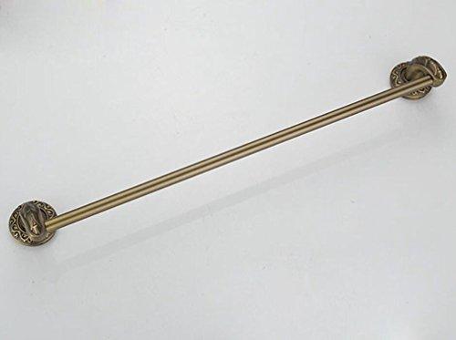 SSJDCF Handtuchstange/Handtuch Antike grüne Bronze alle Kupfer Einzelstab Bad Anhänger Metallanzüge Handtuchhalter -