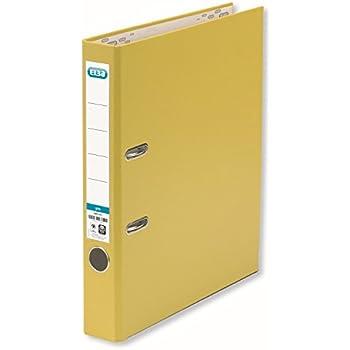ELBA Ordner smart Pro 5 cm schmal DIN A4 gelb: Amazon.de