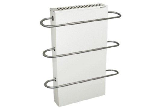 BOS Elektroheizung wfhb 60/100 2 KW mit BOSOLIT Schamottspeicherkern mit 3 Handtuchhalter