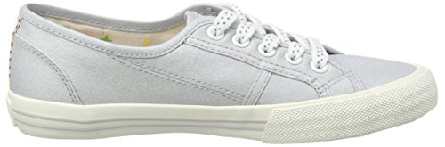 Pepe Jeans Baker Metal, Baskets Basses fille Argent (911 Pearl Silver)