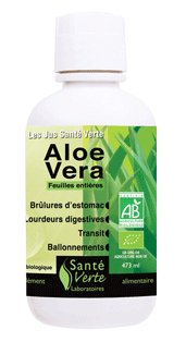 SANTE VERTE Jus à l'Aloe Vera BIO (473 ml)