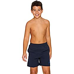 Zoggs Boys Penrith Shorts, Navy, 25 Inch, 10-11 Years, Medium