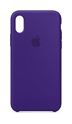 Apple iPhone X Silikon Hülle, Ultraviolet