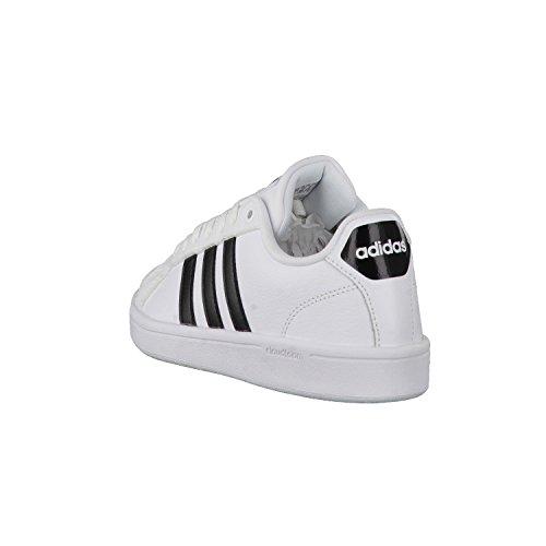 adidas Cloudfoam Advantage, Sneakers Basses Femme Blanc