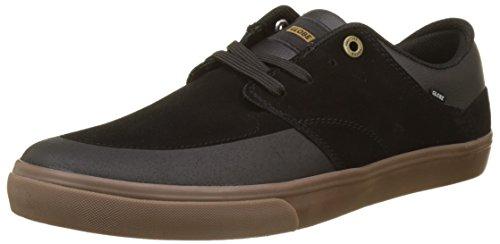 Globe Herren Chase Skateboardschuhe Schwarz (Black/Gum)