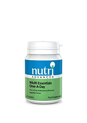 Nutri 50mg Multi Essentials One A Day 30 Tablets