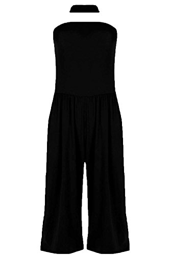 Fashion Star Damen Jumpsuit * Schwarz