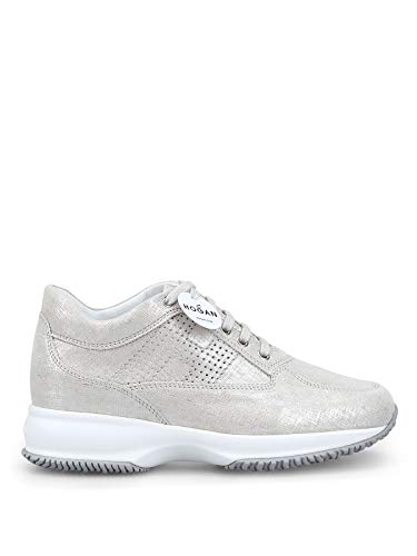 Hogan Sneakers Donna Hxw00n00e30kayb002 Pelle Argento