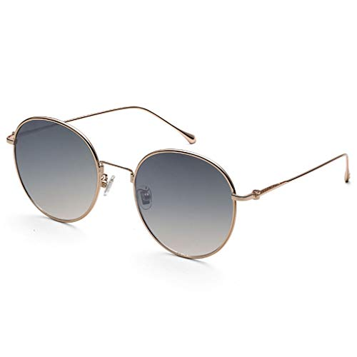 WULE-Sunglasses Unisex Bunte Farbverlauf Mode Brille koreanische Version der Flut Elegante Sonnenbrille Unisex-Sonnenbrille, (Color : B)