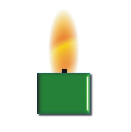 TrendLight 890027 Wachsfarbe für 1kg Wachs, Qualitätsfarbe zum Kerzenwachs einfärben, grün