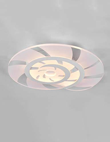 Post-modernen LED Acryl Einfache Deckenleuchten Schlafzimmer Kinderzimmer kreativ Deckenleuchte kreative Lampen (Farbe: Versprechen dimmen) -