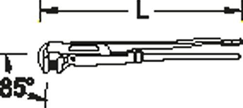 "GEDORE 175 3 Rohrzange 3"", 1 Stück"