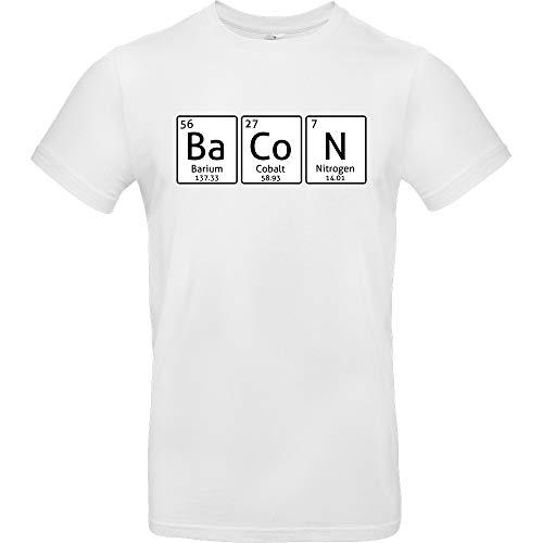 Ba-Co-N - T-Shirt, weiß, Gr. XXL -