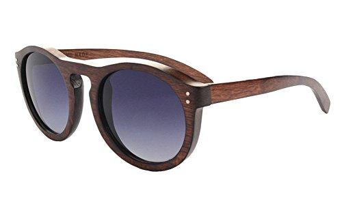 Insun Herren Sonnenbrille Gr. Einheitsgröße, Grau - Coffee Frame
