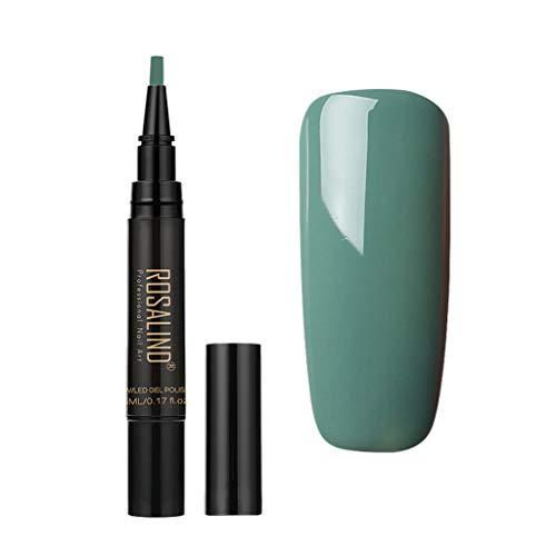 Frau Nagellack,Rabatt,PorLous2019 Damenmode Trend Schnell Trocknend Langlebige DIY Farbe Nagellack UV LED Gel Nagellack Pen Beauty Nagel Bildfarbe