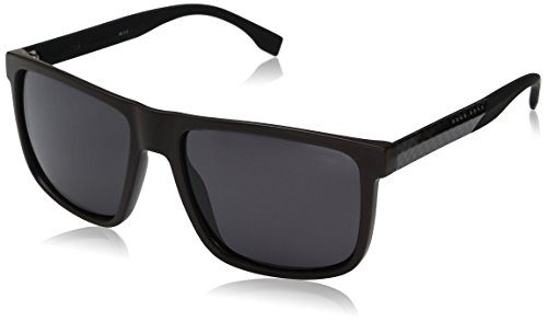BOSS Hugo Herren 0879/S 3H 0J8 Sonnenbrille, Braun (Mtbrw Crbnbk/Grey Pz), 57