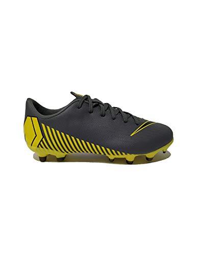 Gs Jugend-schuhe (Nike Unisex-Kinder Vapor 12 Academy Gs MG Fußballschuhe, Grau Black-Dark Grey 070, 33 EU)
