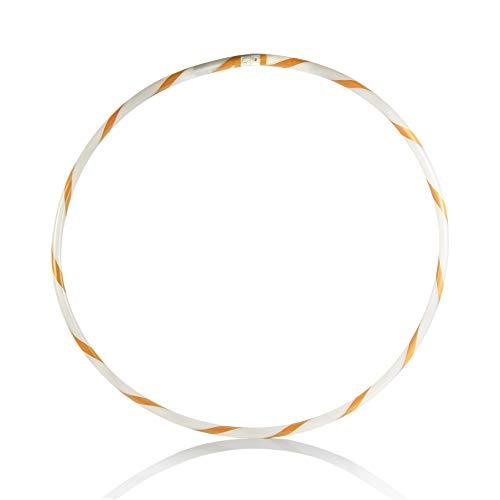 UltraByEasyPeasyStore Arancione Hula Hoop LED Light up Lampeggiante 90cm 35 Pollici a Batteria...