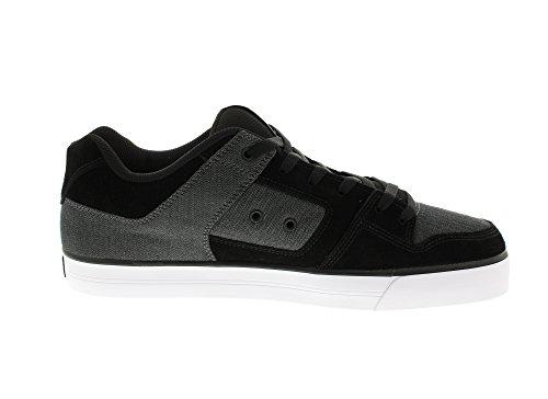 DC Shoes Pure Se, Baskets Basses Homme Schwarz