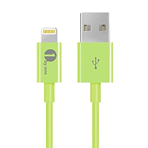 1Byone Charging cable for iPhone 1M (3.28ft) [Apple MFI Certified] Lightning to USB Cable for iPhone 7 7Plus, iPhone 6 6s, 6 Plus 6s Plus 5 5s Apple Cable Apple Lightning Cable-1-Year Limited Warranty,