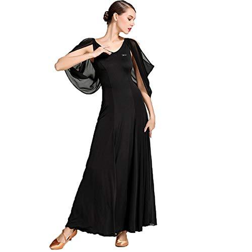 ZTXY Frauen Erwachsene Lob Lyrical Liturgical Dance Dress Schulterfrei Faltenrock Moderne Mode Ballkleid Maxikleid Klassischen Skater Kleid Kleid Nacht Cocktail Latin Waltz,S (Skaters Waltz Kostüm)