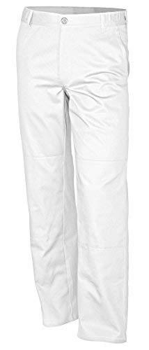 Qualitex Bundhose-Basic 100% CO 240 G/M² Farbe Weiss Größe 54