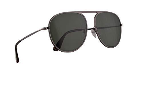 Tom Ford Männer FT0621 Jason-02 Sonnenbrille w/Polarisiert Grün 59mm Objektiv 08R FT621 TF 621 TF621 Gunmetal groß