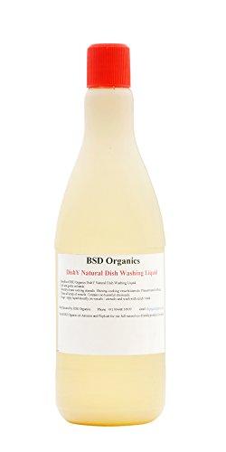 BSD Organics BabyO DishY Natural Dish Washing Liquid – 550 ml (for household with babies)