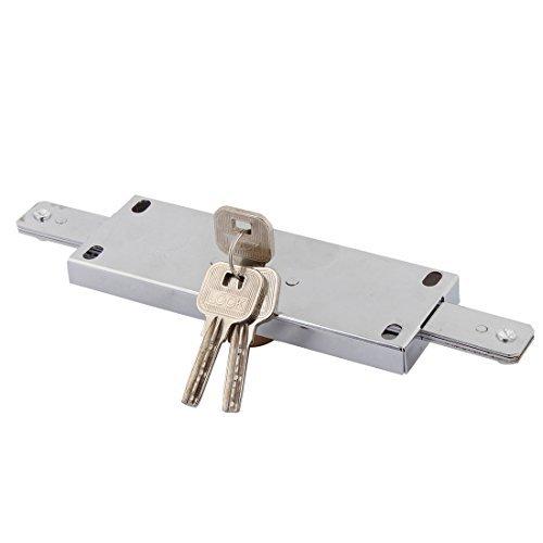 DealMux-Inicio-Puertas-de-garaje-de-bloqueo-de-seguridad-enrollable-cerradura-de-puerta-de-plata-del-tono-w-3-claves