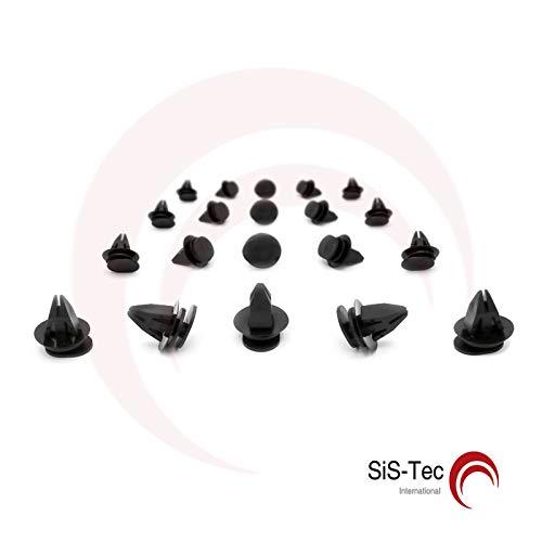 7131480419 - Set di 20 ammortizzatori con clip di fissaggio