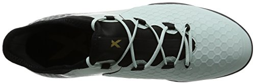 adidas Herren X 16.2 Cage Fußball-Trainingsschuhe Grün (Vapour Green F16/Core Black/Core Black)