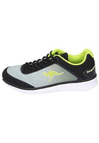 KANGAROOS Sneakers, Freizeitschuhe Blue Light 2000, Sportschuhe grau, 150460-9 grau
