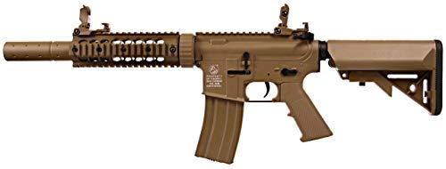 COLT® Airsoft M4 Silent Ops AEG 180863 Cybergun Nylon Fiber y Metal/Color Desierto/Electric (0.5 Joule) - Semi/Full Automatic