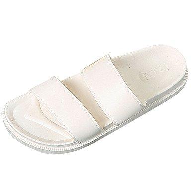 RTRY Donna Sandali Comfort Pu Esterna Di Estate Bianco Comfort Piatto Bianco Us7.5 / Eu38 / Uk5.5 / Cn38 US8 / EU39 / UK6 / CN39