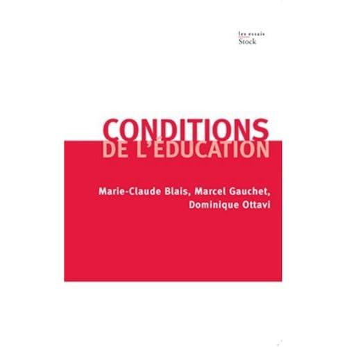 Conditions de l'éducation