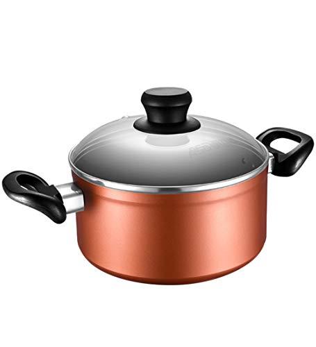 Suppentopf Multifunktion Haushalt Feuer Milch Nudeln Kochen Kocher Induktionsherd Gasherde,20cmSuppentopf