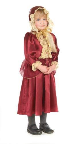 Mädchen Historische Viktorianische Lady Kostüm 5-7 Jahre (Womens Viktorianischen Kostüm)