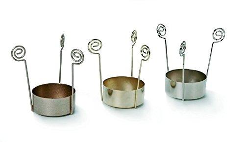 Teelichteinsatz gold glänzend - 1 Stück (ZK-32)