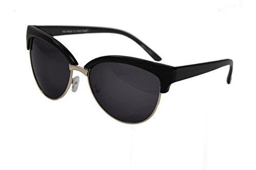 The Gorgeous 1 Damen Sonnenbrille Gr. Medium, schwarz / blau