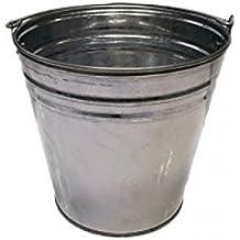 Zinc Seau–Seau galvanisé–déco Seau–Seau en métal 7–10et 12L