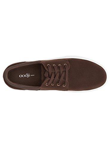 oodji Ultra Homme Chaussures en Suédine avec Empiècements en Cuir Synthétique Marron (3900N)