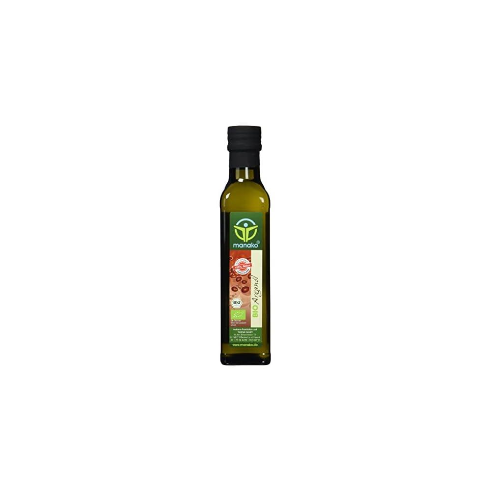 Manako Bio Arganl Aus Marokko Leicht Gerstet Kaltgepresst 100 Rein 250 Ml Glasflasche 1 X 025 L